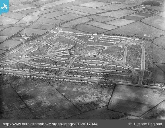 1. Witton Lodge Britain from Above 1926